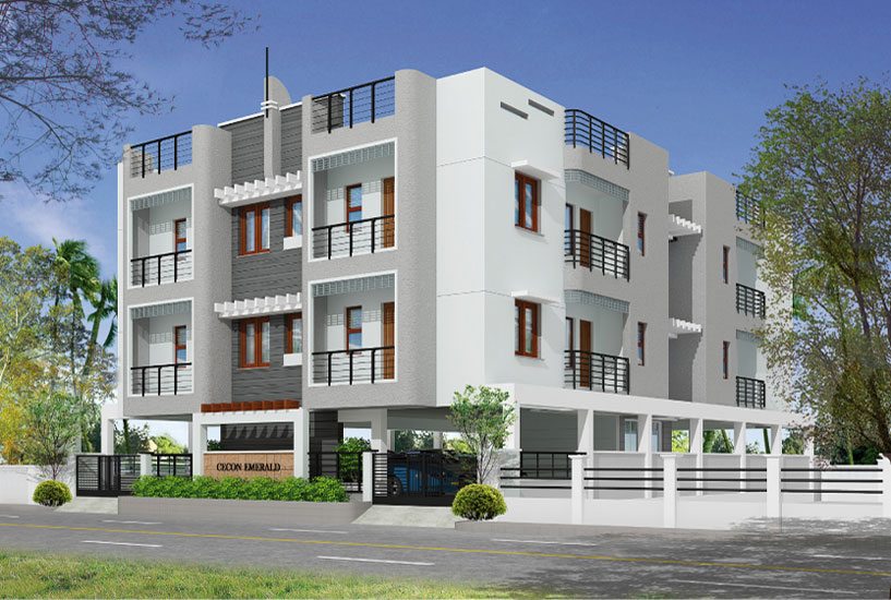 residential construction elevation in Chennai