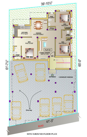 Construction ground floor plan
